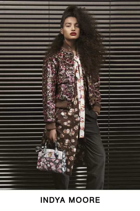 Indya Moore for Louis Vuitton Pre-Fall 2019. Image:Courtesy LVMH