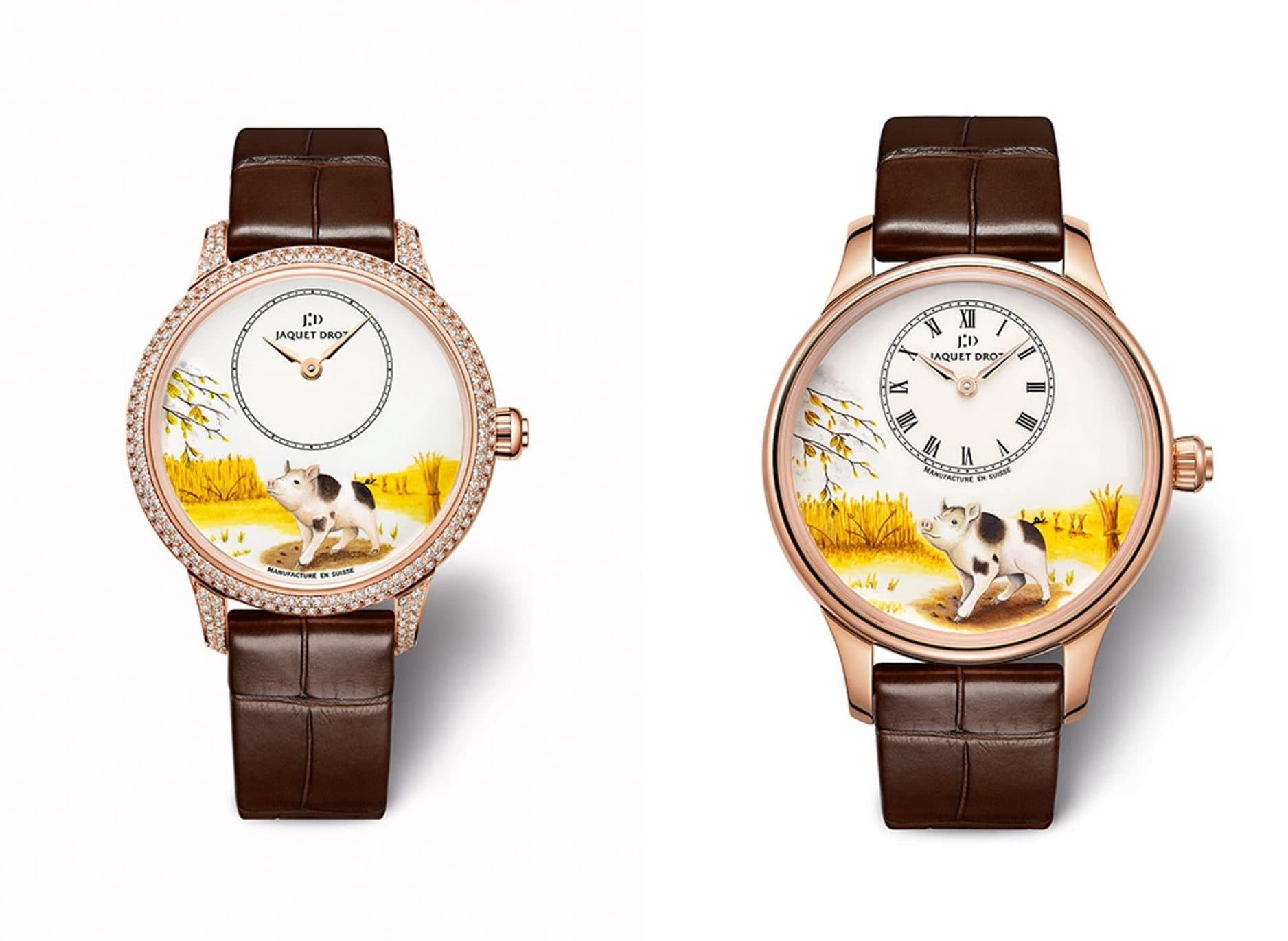 Year of the Pig watches: Jaquet Droz