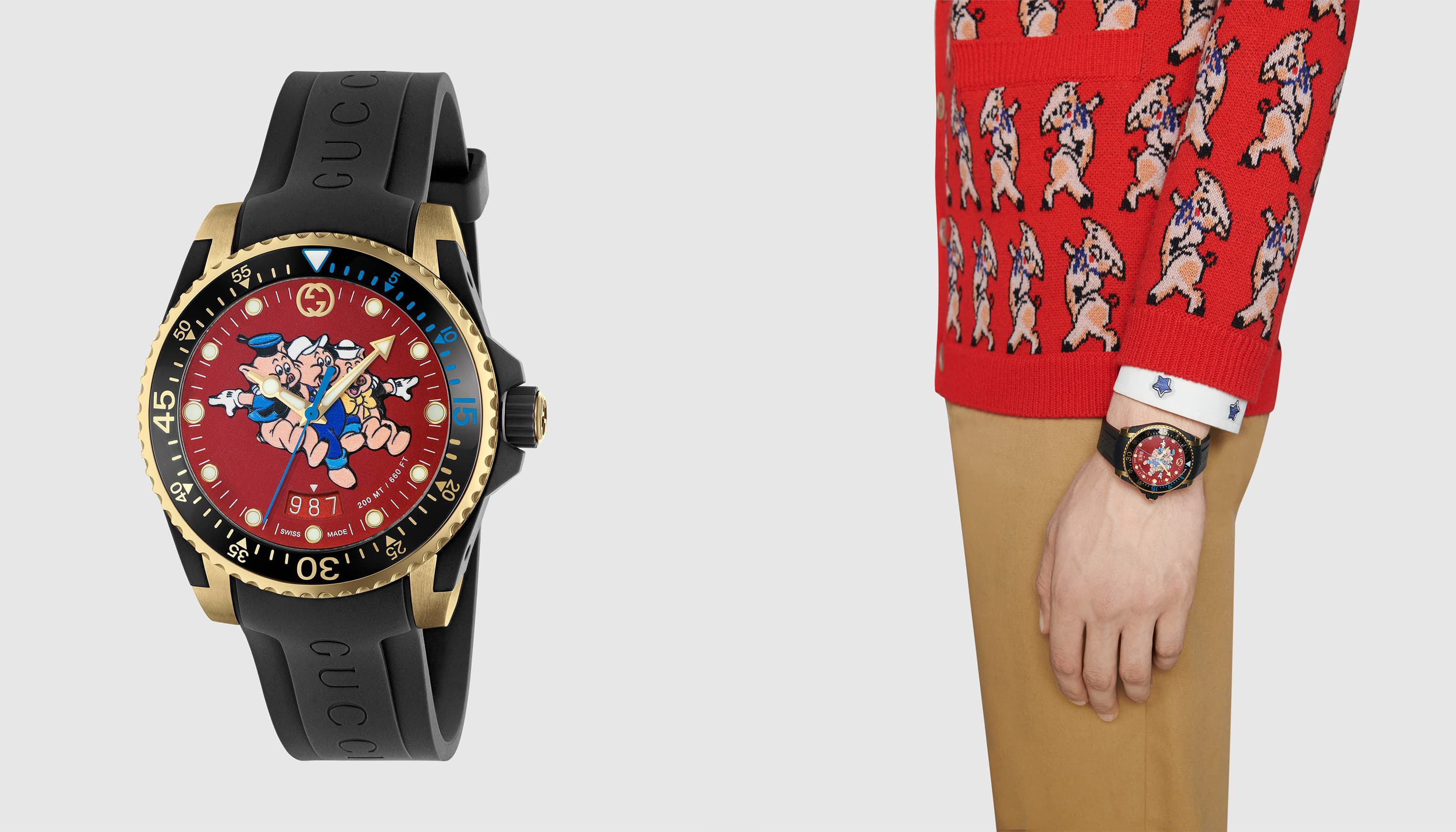 Year of the Pig watches: Gucci