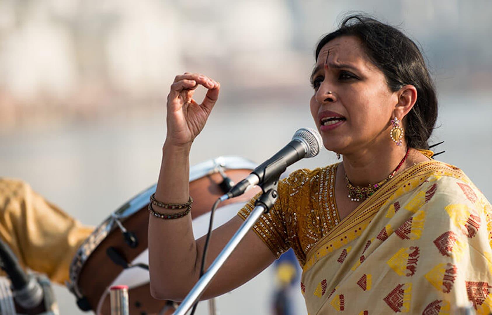 Vidya Shah at Jaipur Lit Fest 2019