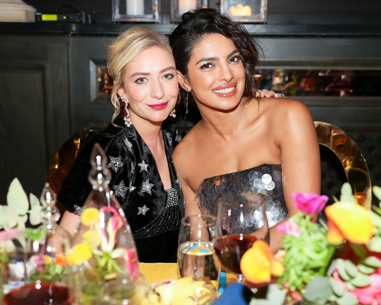 Whitney Wolfe and Priyanka Chopra