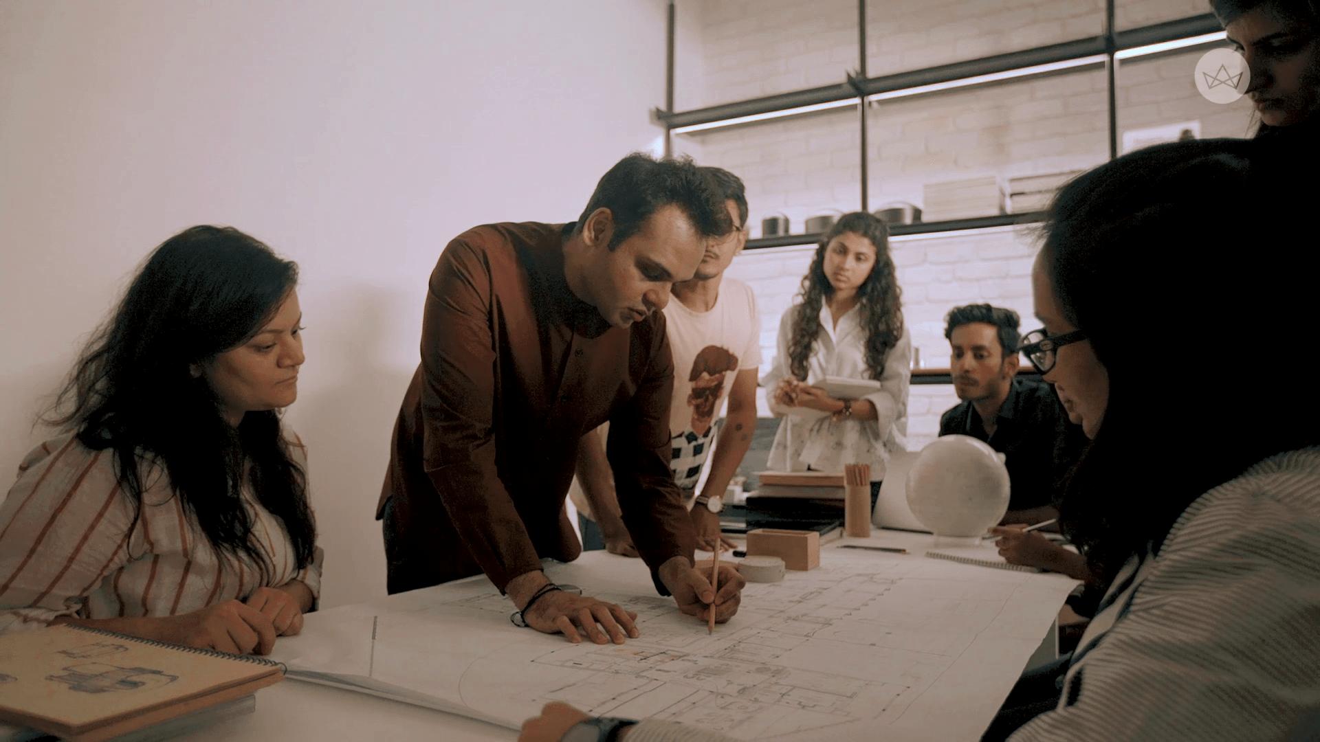 Ashiesh Shah in his studio