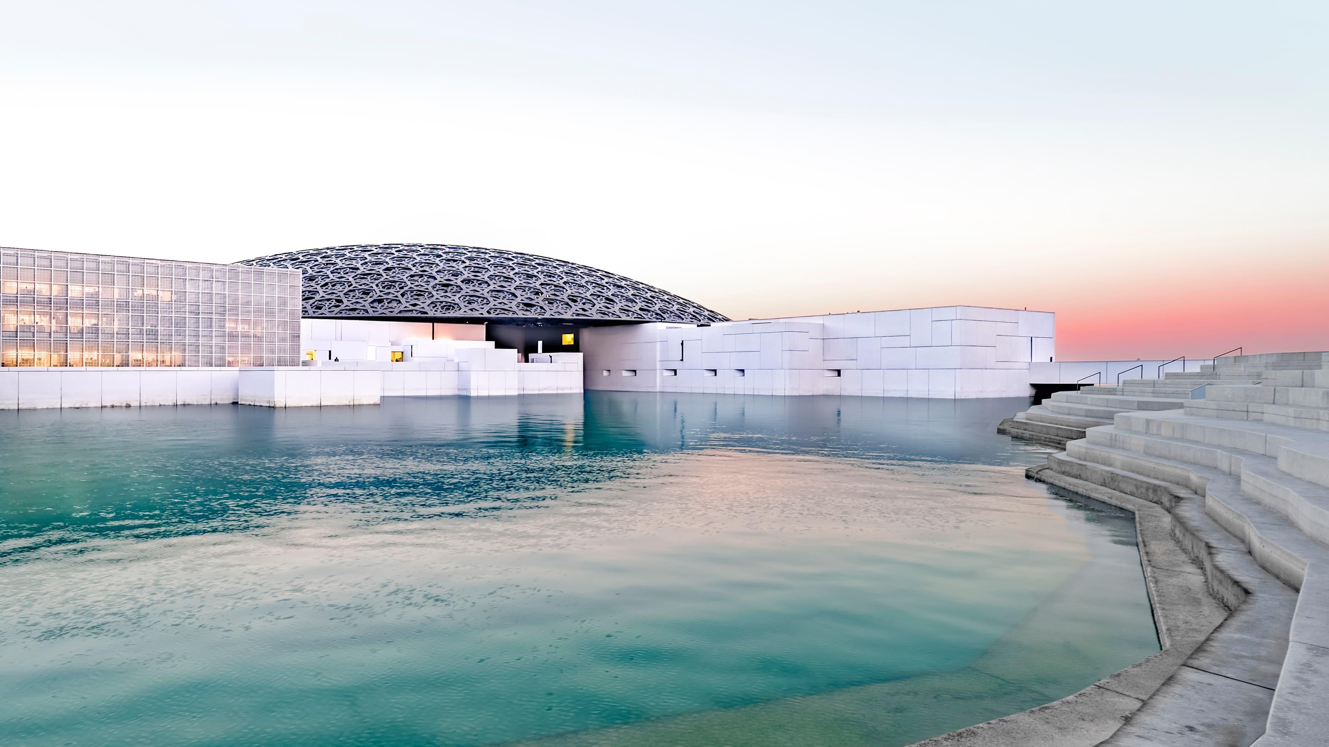 Louvre Abu Dhabi, Beyond by Seawings. Dubai weekend getaway