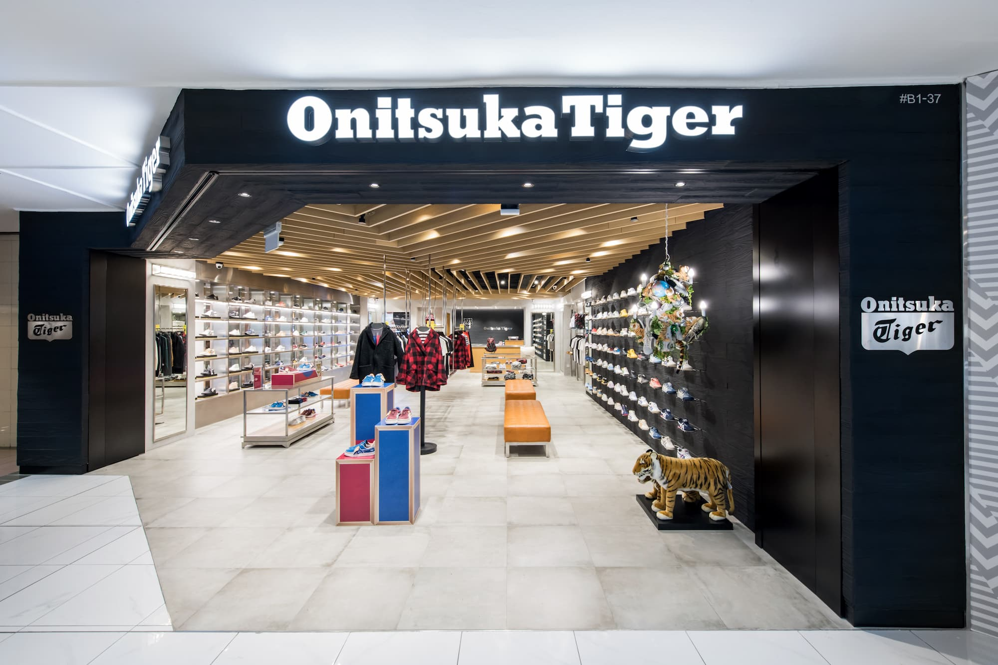 size 40 33e82 f3f71 Onitsuka Tiger opens its largest local retail outlet in Ngee ...