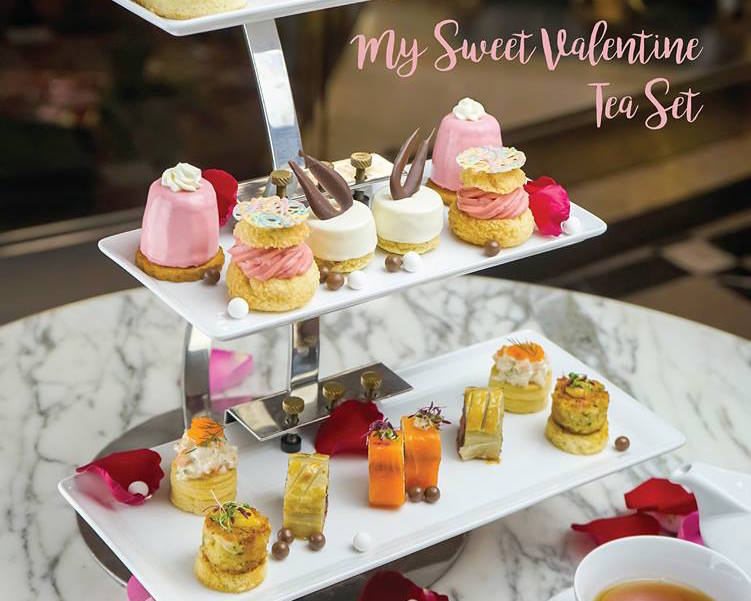 Valentine's Day Afternoon Teas Bangkok: 1823 Ronnefeldt