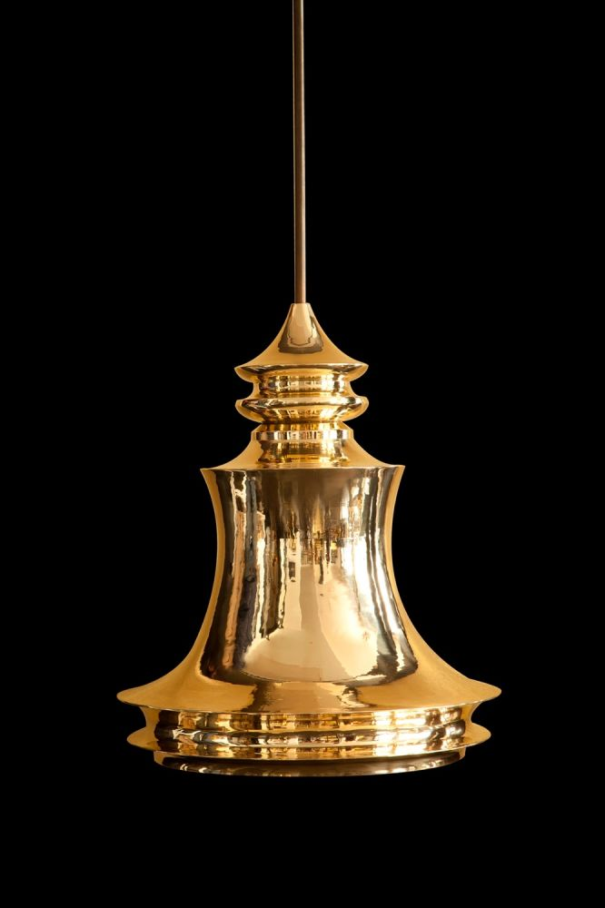 Borobudur hanging lamp by Viya Home. Image: Courtesy Viya Home
