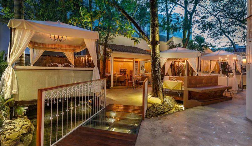 Best restaurants for Valentine's Day in Delhi. Sevilla Claridges