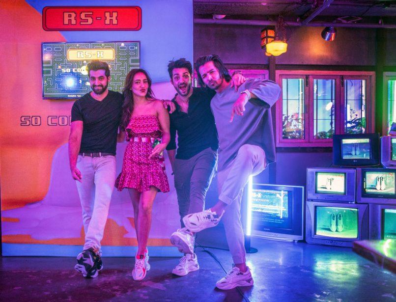 Akshay Oberoi, Neha Sharma, Karan Wahi and Harshvardhan Rane (L-R)