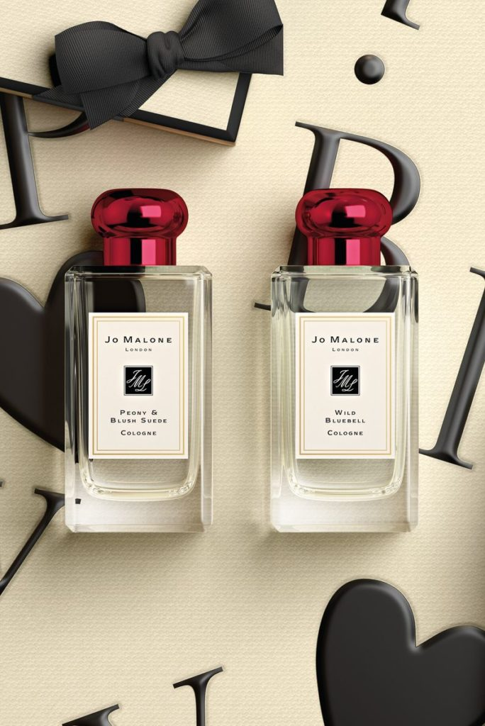o Malone London Valentine's Day Special Red Capped Bottles
