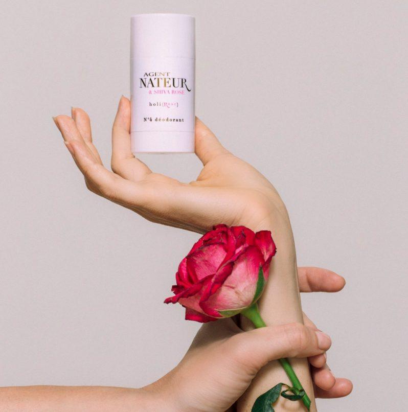 Agent Nateur & Shiva Rose Holi(Rose) N4 Deodorant