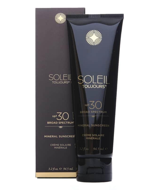 Soleil Toujours Sunscreen