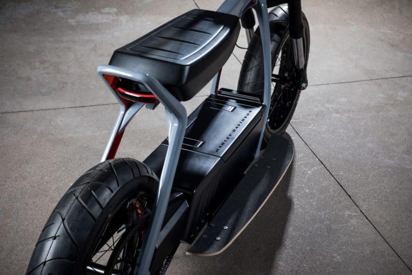Harley Davidson's electric scrambler concept