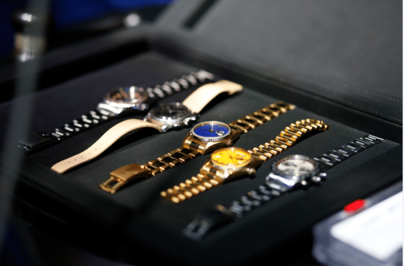 Timepieces at the masterclass