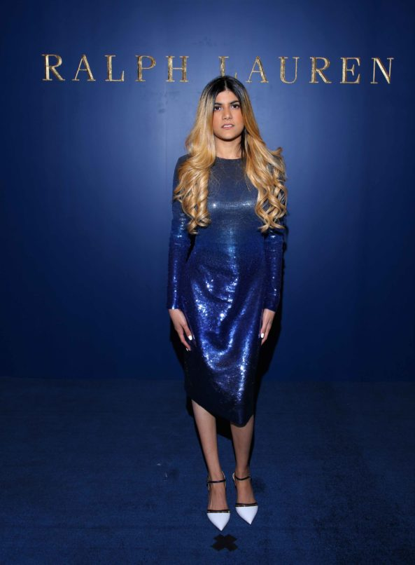 Ananya Birla in Ralph Lauren Collection