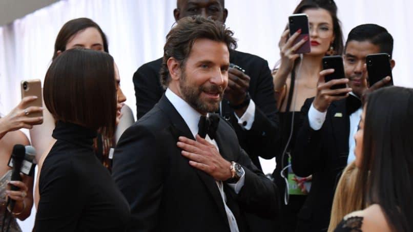 Bradley Cooper wearing IWC's limited-edition Big Pilot