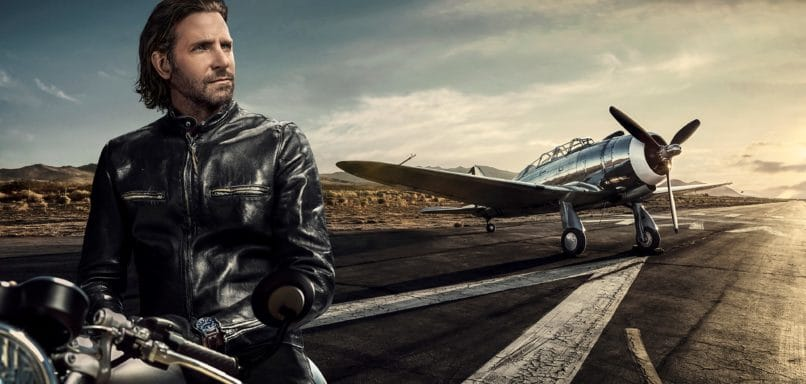 Snapshot from IWC's Big Pilot 'The Road Less Travelled' capaign starring brand ambasador, Bradley Cooper