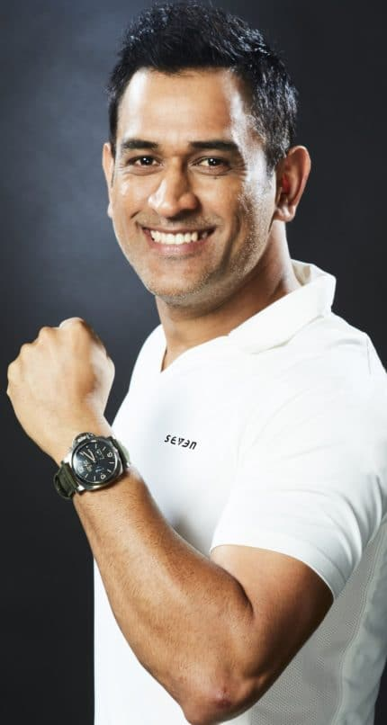 MS Dhoni, Indian brand ambassador for Panerai