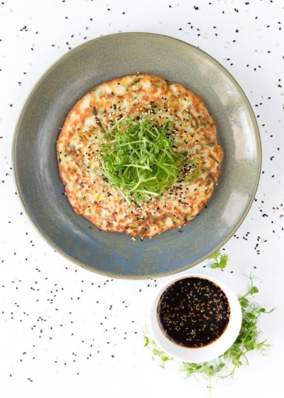 Korean Seafood Pancake at Bastian. Best pancakes Mumbai. National pancake day