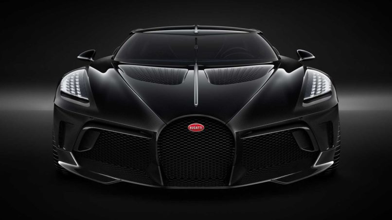 The Bugatti La Voiture Noire Has The Nicest Rear End In: Bugatti's $18.9 Million La Voiture Noire Is Now The Most