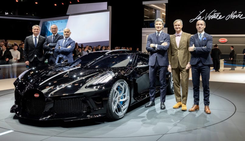 Just One Bugatti La Voiture Noire Exists And It S Priced: Bugatti's $18.9 Million La Voiture Noire Is Now The Most