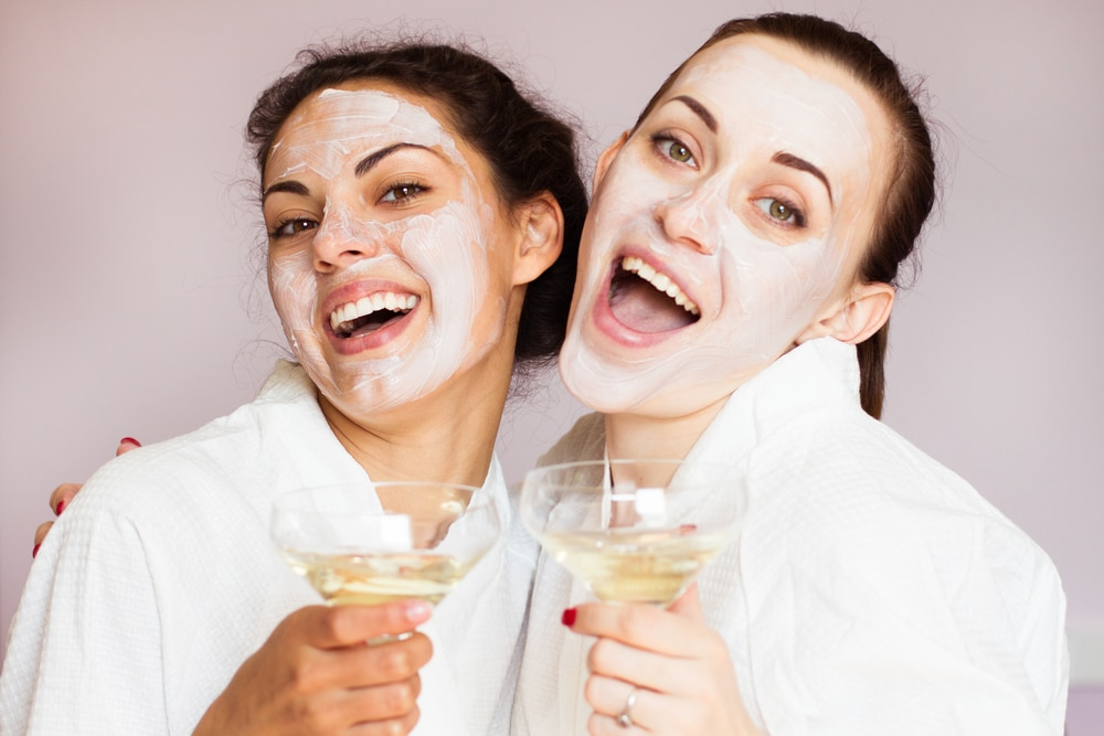 Spa treatment women