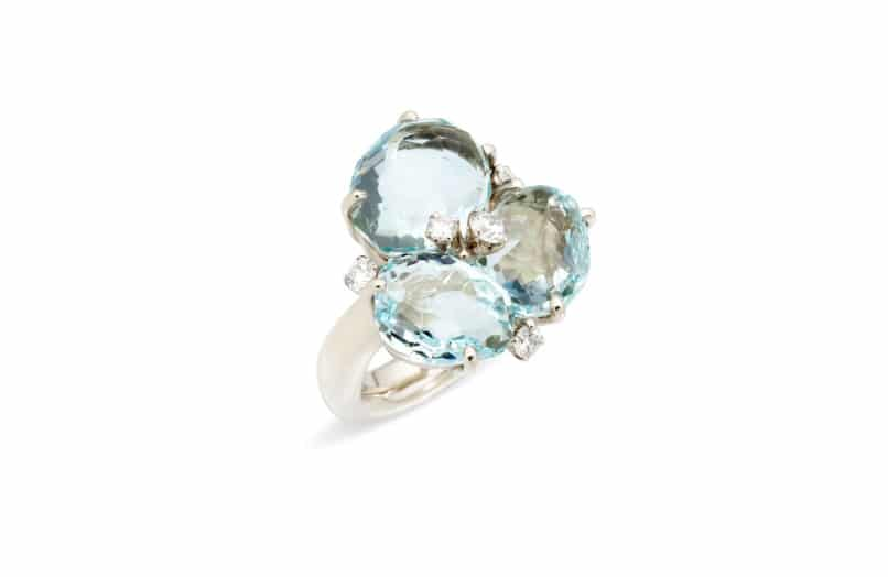 5 ways to wear aquamarine, the March birthstone