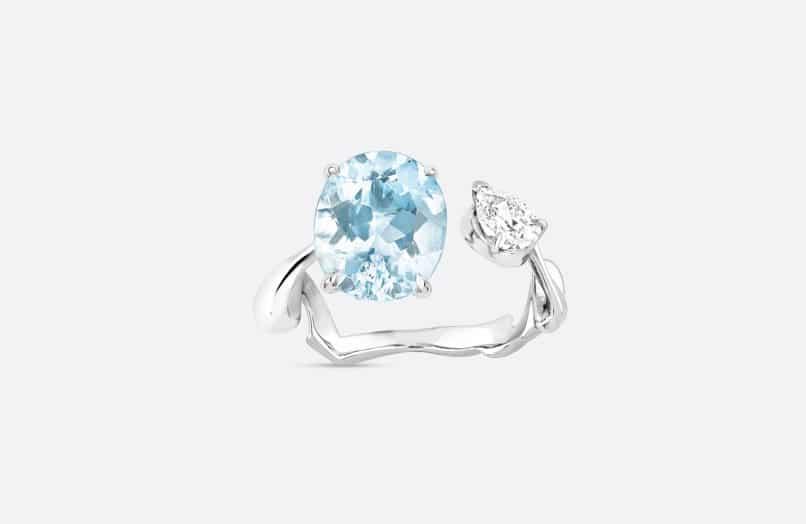 Aquamarine, March Birthstone: Dior