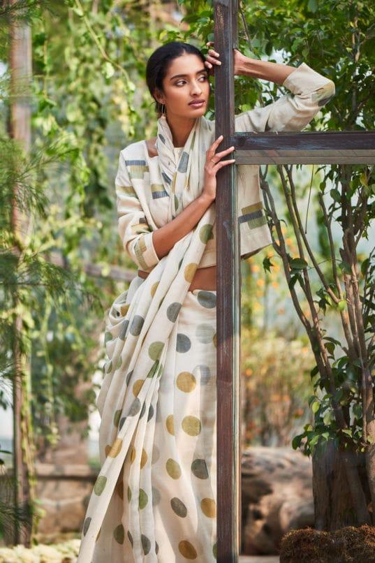 Nasim Saree Good Earth