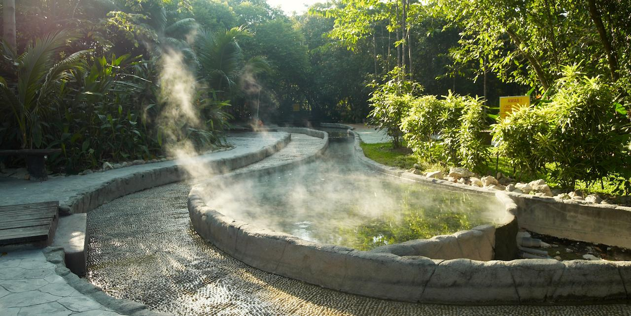 hot springs in Malaysia