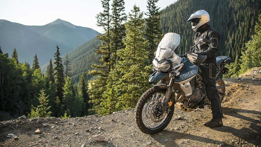 Triumph' entire Tiger franchise focuses on off-road indulgences