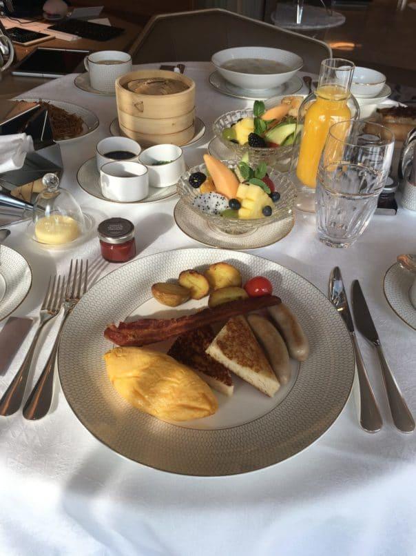 Morpheus Macau - Suite Staycation - Breakfast