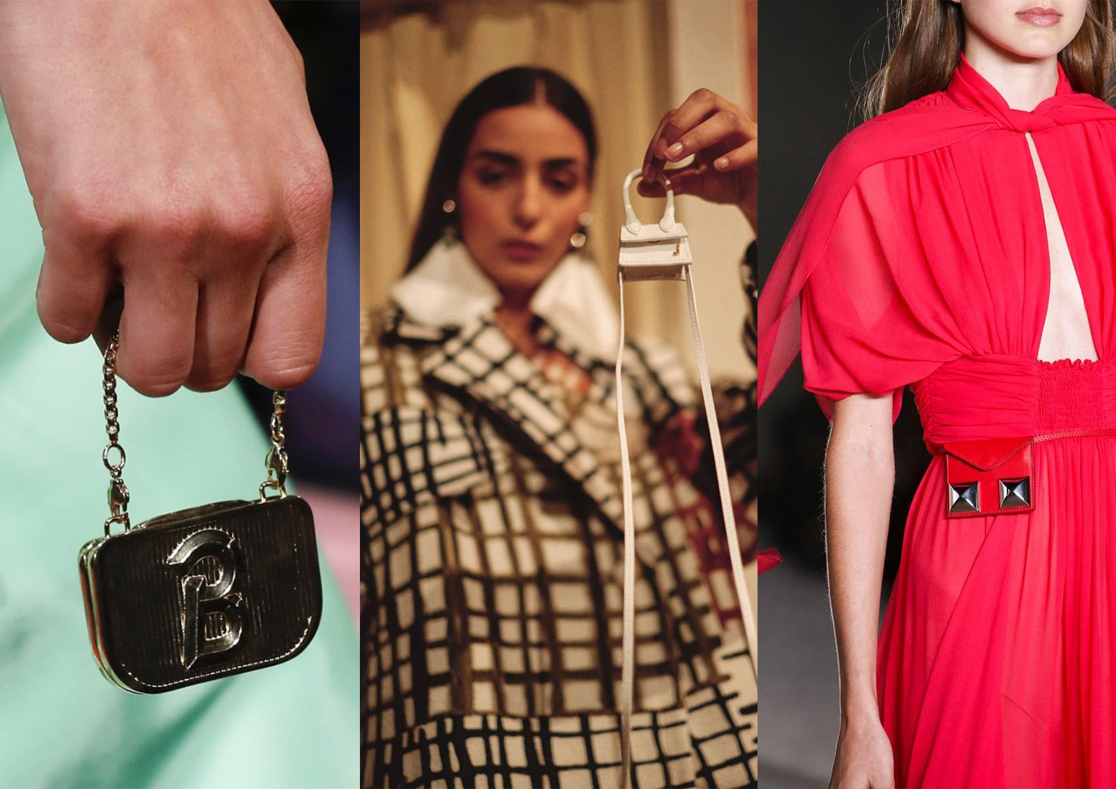 Tiniest bags in fashion