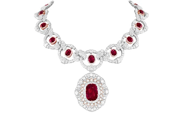 Van Cleef & Arpels Treasure of Rubies Collection