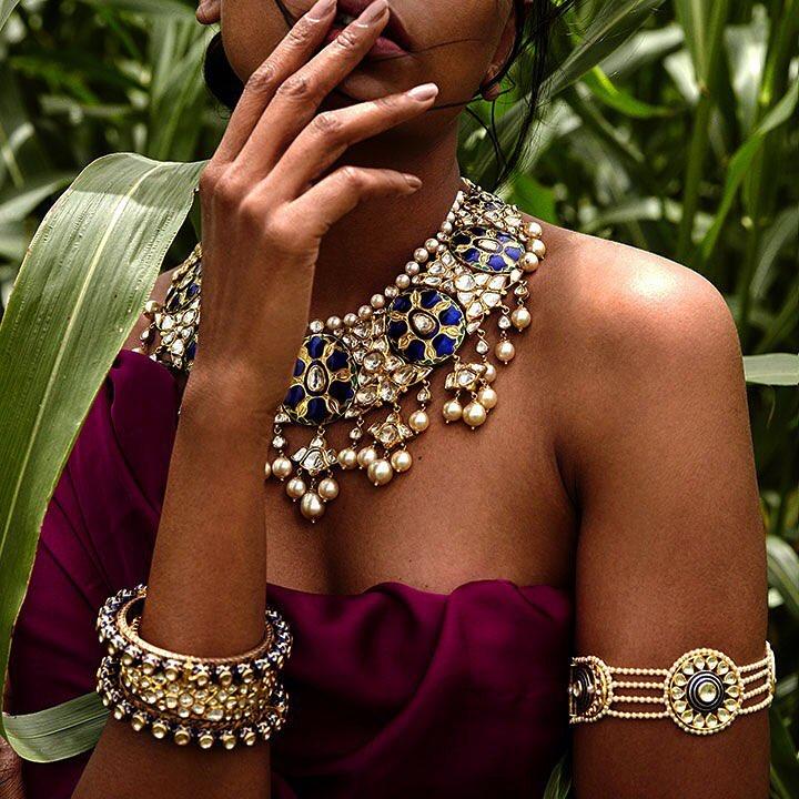Sunita Shekhawat jewellery. Image: Courtesy Sunita Shekhawat