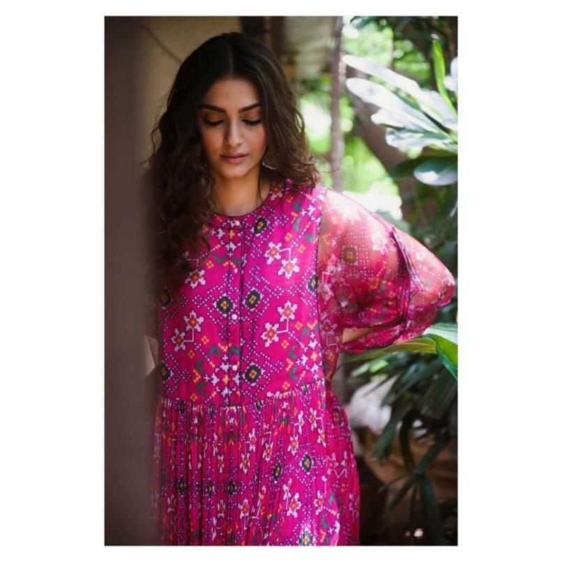 Sonam Kapoor in Saaksha Kinni. Image: Courtesy Instagram