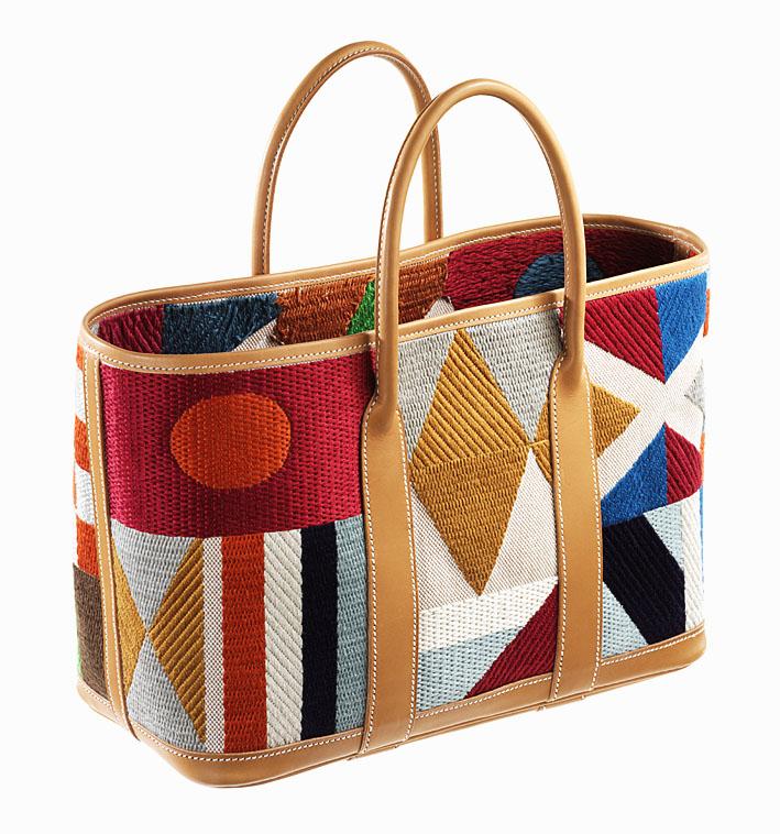 A bag created at Modesti's Les Ateliers 2M. Image: Courtesy Maximiliano Modesti