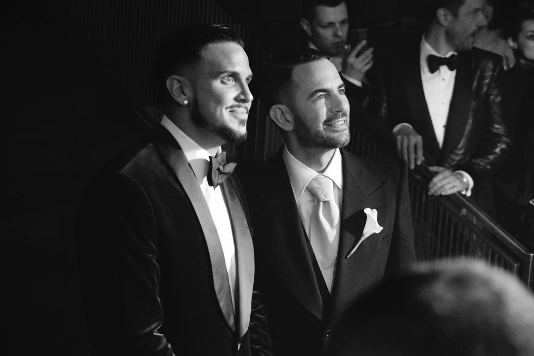 Marc Jacobs and Charly Defrancesco wedding