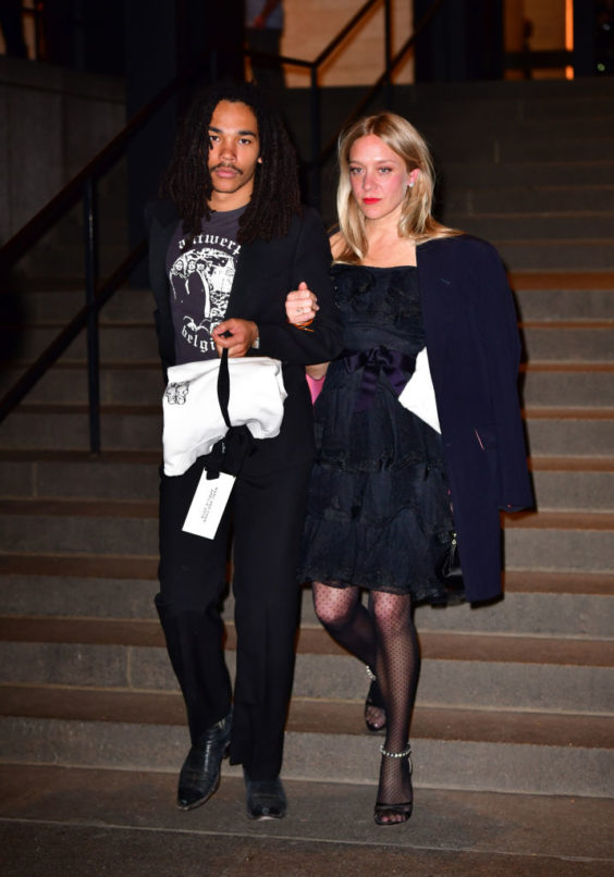 Luka Sabbat and Chloe Sevigny