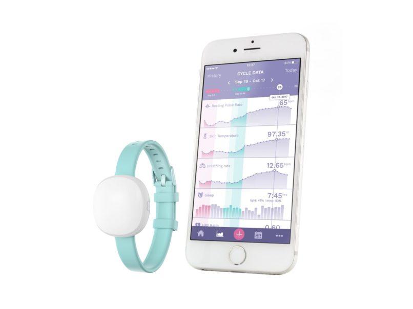 Ava bracelet - female health tracker