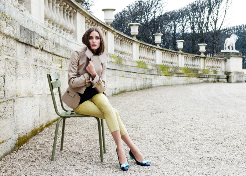 Olivia Palermo as a part of L'Icona project shoot. Image: Courtesy Pinterest