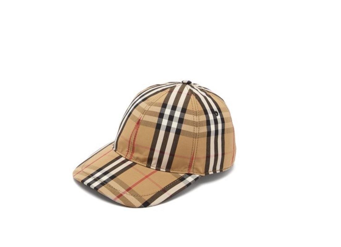 2c0611efeb2 Burberry vintage check cotton baseball cap (Photo credit   matchesfashion.com)