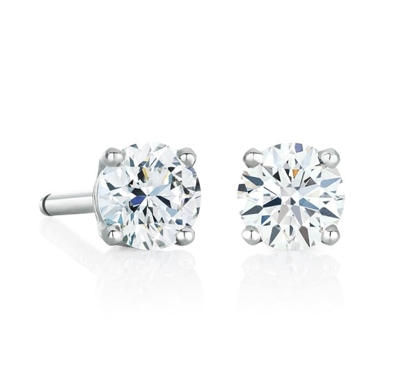 Stud Earrings: DeBeers