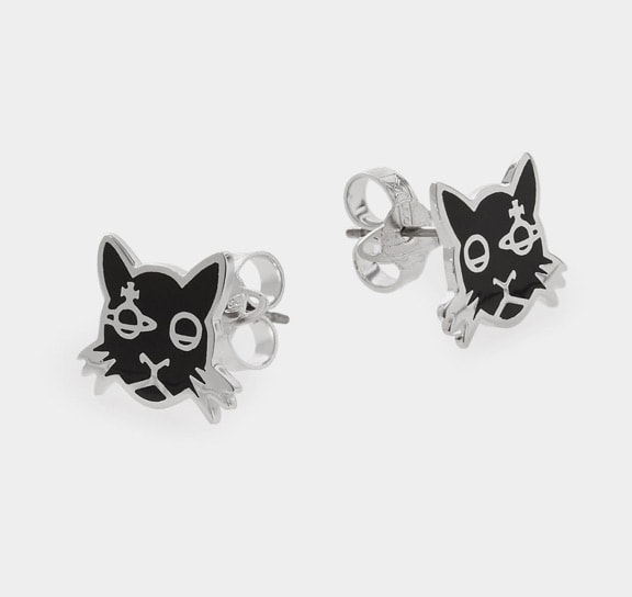 Stud Earrings: Vivienne Westwood