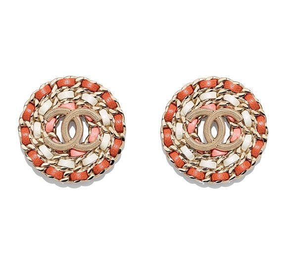 Stud Earrings: Chanl