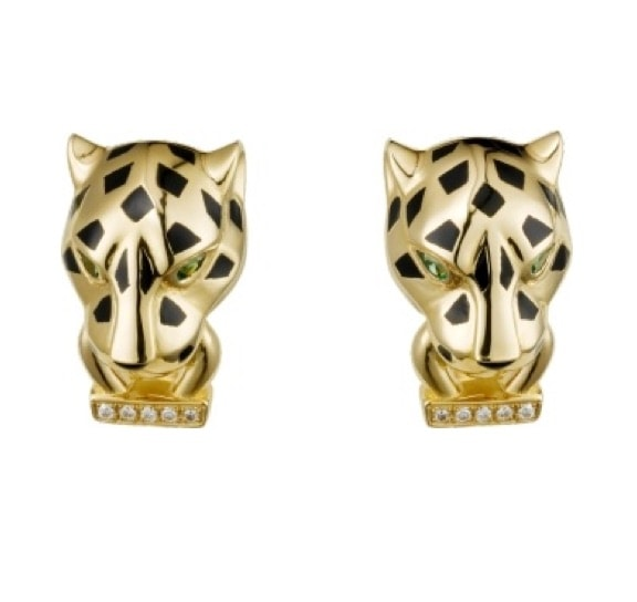 Stud Earrings: Cartier