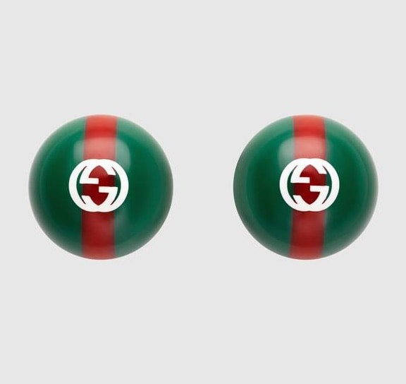 Stud Earrings: Gucci