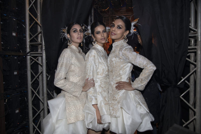 Models in Raghavendra Rathore at Lakme Summer Resort 2019. Image: Courtesy Raghavendra Rathore