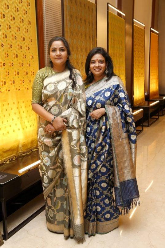 Designers Swati Sunaina. Image: Courtesy Swati & Sunaina
