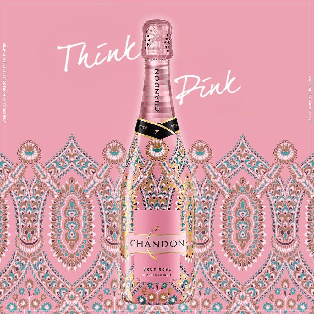 chandon think pink