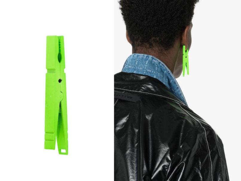 Nobo clip earring by Ambush